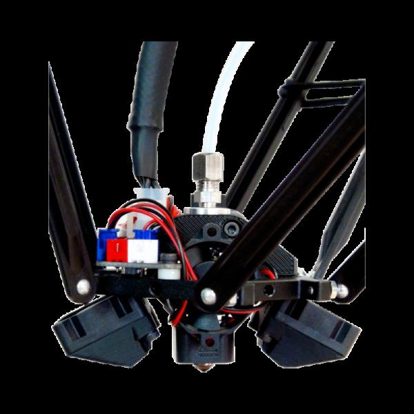 MicroDelta Rework Extrusion imprimante3d 3dprinter