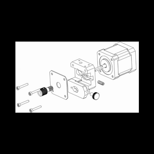 MicroDelta Rework Motor imprimante3d 3dprinter