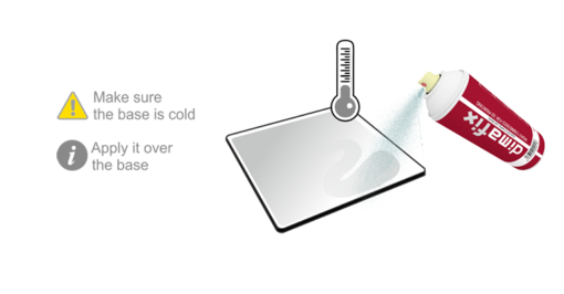 DimaFix Spray 3dprinting étape 2 imprimante3d 3dprinter