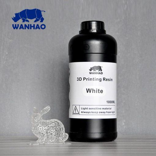 Wanhao 3D-Printer UV Résine Blanche