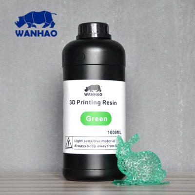 Wanhao 3D-Printer UV Résine Verte