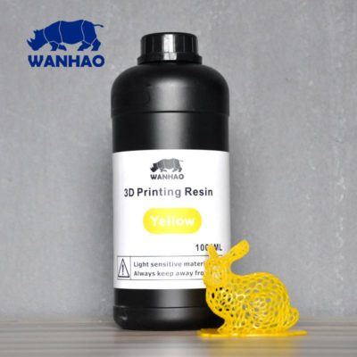 Wanhao 3D-Printer UV Résine Jaune