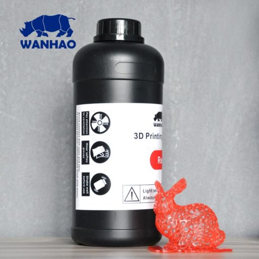 Wanhao 3D-Printer UV Résine Rouge