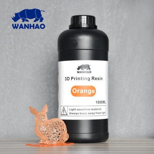 Wanhao 3D-Printer UV Résine Orange
