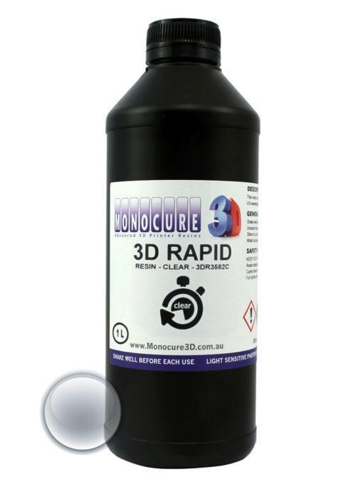 Monocure 3D Résine rapide Transparente