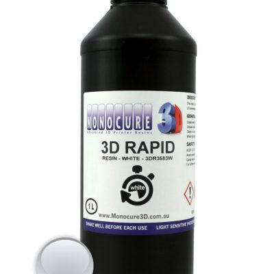 Monocure 3D Résine rapide Blanche