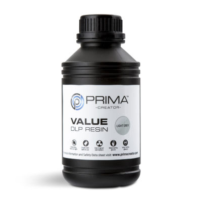 PrimaCreator Résine Value UV / DLP Gris clair - 1 litre