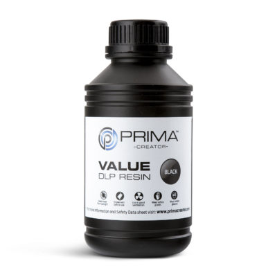 PrimaCreator Résine Value UV / DLP Noir - 1 litre