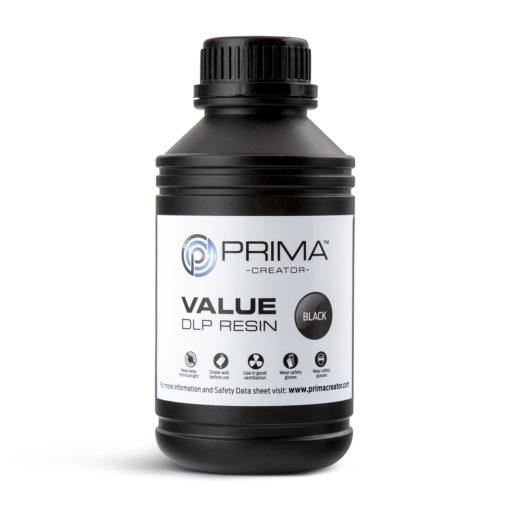 PrimaCreator Résine Value UV / DLP Noir - 1 litre