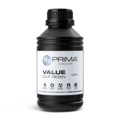 PrimaCreator Résine Value UV / DLP Transparente