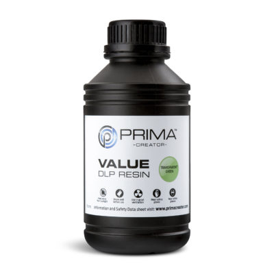 PrimaCreator Résine Value UV / DLP Vert transparent