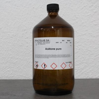 Acétone pure - 1 litre