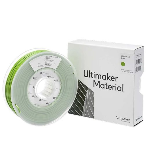 Ultimaker ABS vert - 2.85mm - 750g