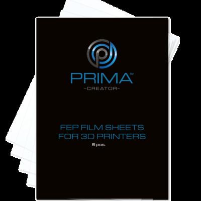 Set de 5 films FEP pour imprimantes 3D - 140x200mm